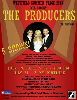 The Producers – Westfield Summer Stage 2013